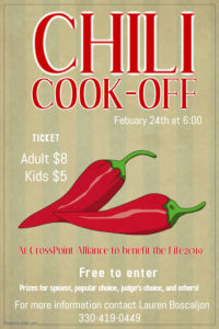 Chili Cook-off @ at CrossPoint Alliance Church